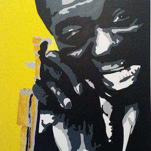 L.A. acrylique sur toile  46x55 cm / 2015