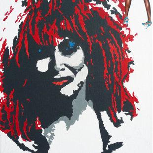 T.T. acrylique sur toile  46x55 cm / 2011