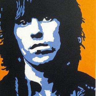 K.R. acrylique sur toile  46x55 cm / 2011