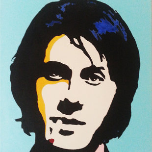J.D. acrylique sur toile  46x55 cm / 2015