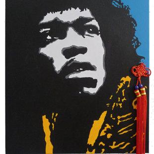 J.H. acrylique sur toile  46x55 cm / 2011