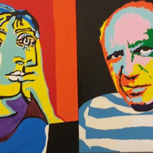 P.P. acrylique sur toiles  100X51cm / 2015