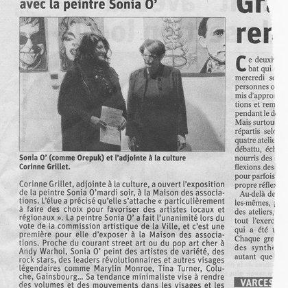Le dauphiné Libéré mars 2019